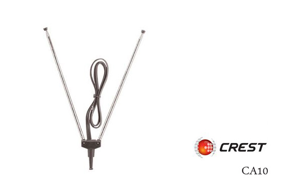 Free Ozstock Day: Crest Indoor VHF TV Rabbit Ear Antenna CA10