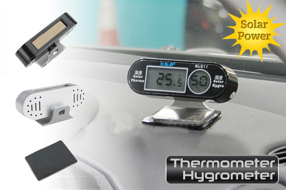 Digital Solar Thermometer and Hygrometer Sensor