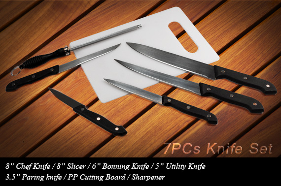 Super Deal: 7 Piece Knife Set
