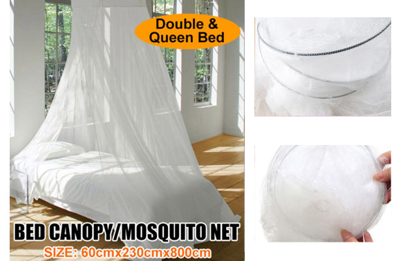 Round-Top Mosquito Stopping Net Bed Canopy