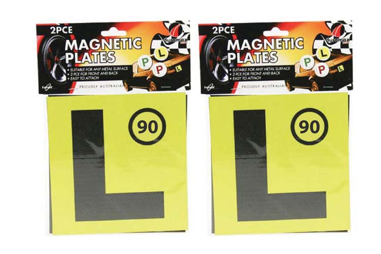 2pc Magnetic L (Learner) Plate