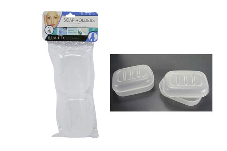 2pc Durable Soap Holders