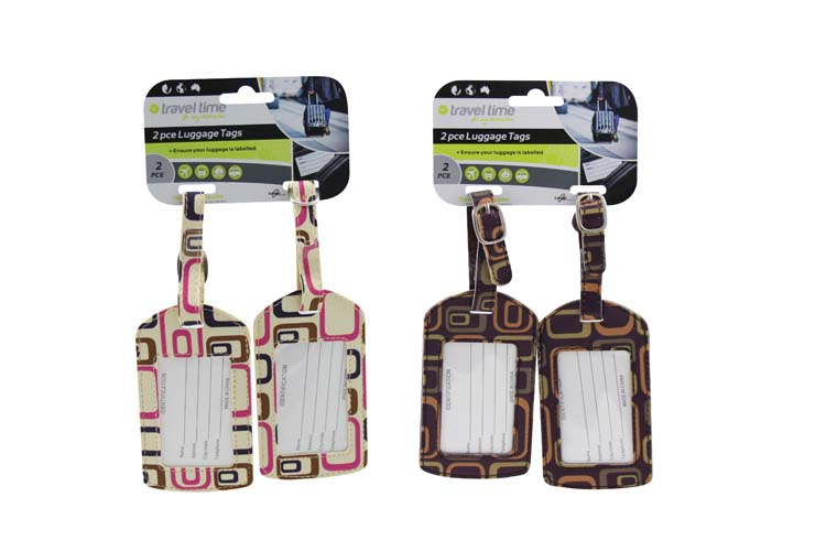 2pc Luggage Tag