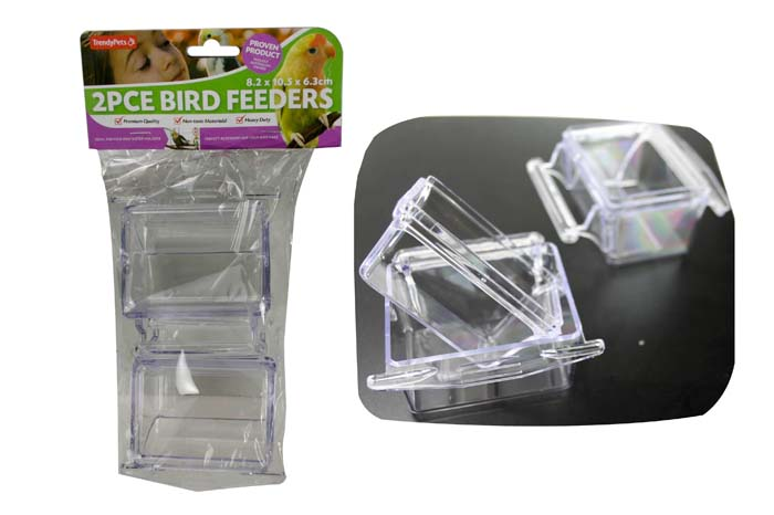 2pc Bird Feeder Set