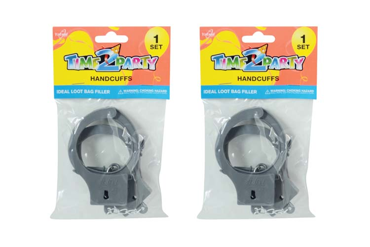 Toy Handcuff Set with Keys
