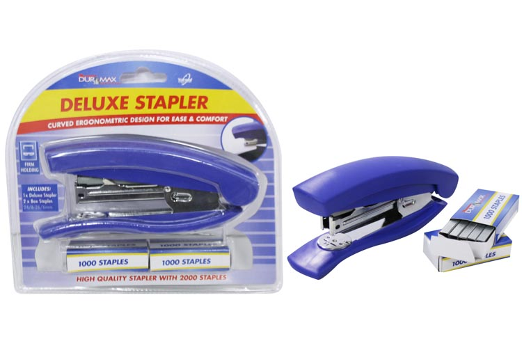 Deluxe Stapler Set with 2000 Staples