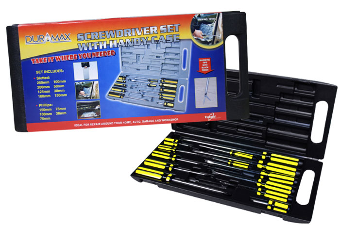 Deluxe Screwdriver Set with Handy Case