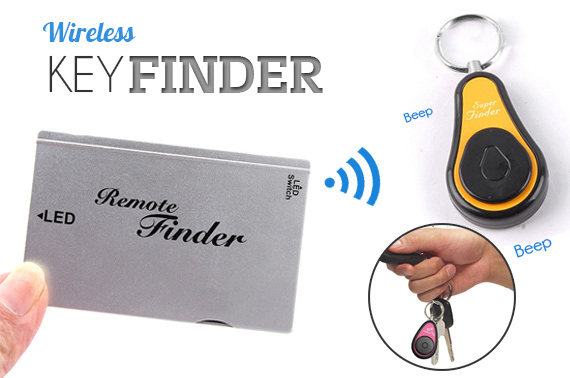 Electronic Wireless Key Finder with Remote Control