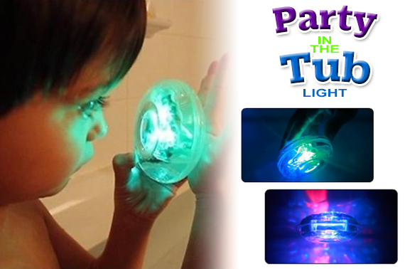 Kids Bath Funny LED Light Toy