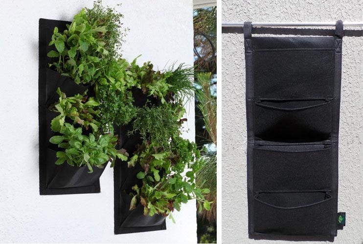 4 Pocket Hanging Vertical Garden Planters