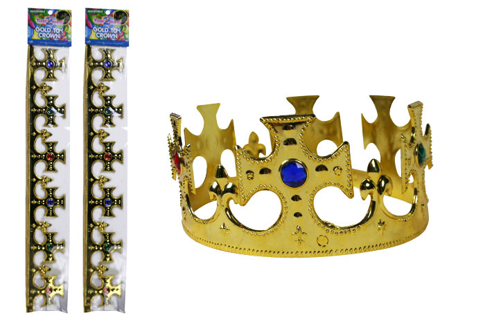 Adjustable Gold Toy Crown