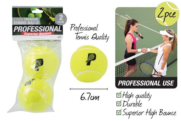 2pc Premium Tennis Ball Pack