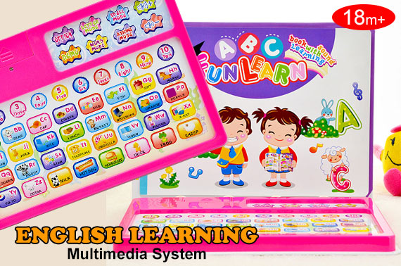 English Learning Book & Tablet Toy for Kids