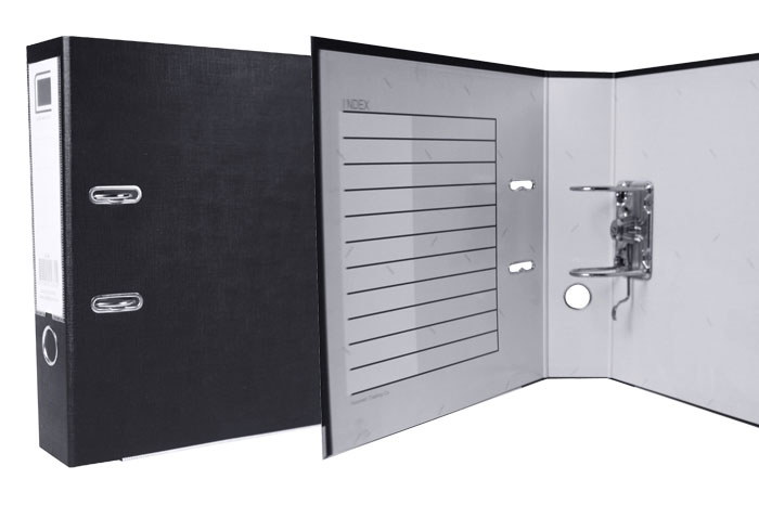 A4 Lever Arch Folder with Label
