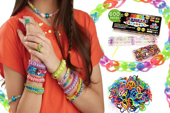 2x DIY Loom Bands Bracelet Making Kit