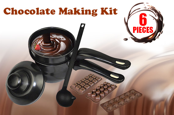 6-Piece Chocolate Making Kit