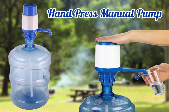 Hand Press Manual Pump / Dispenser for 5 Gallon Drinking Water Bottle