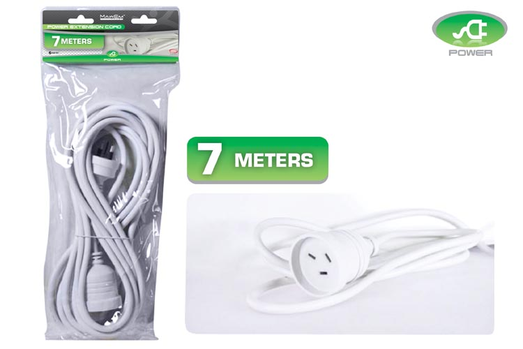7m Power Extension Cord