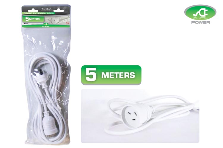 5m Power Extension Cord