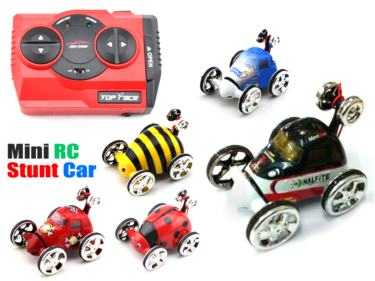 Radio Control RC Micro Stunt Car Happy Tip Lorry