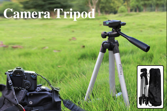 Weifeng WT3110A 3-Way Pan & Tilt Head Tripod Compact Camera Stand