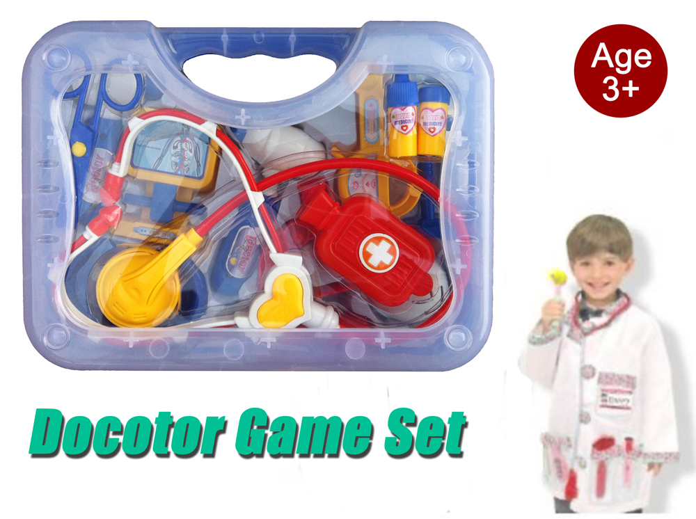Doctor Game Set Kid Pretend Play