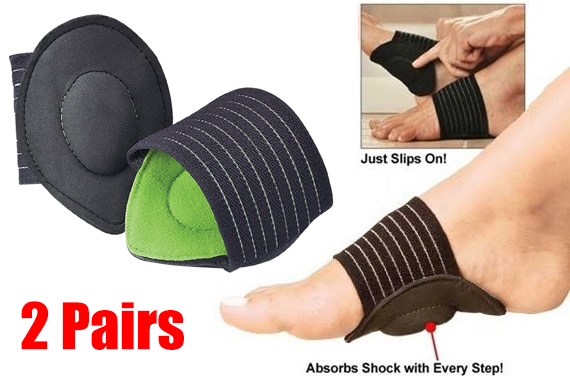 Two Pairs Arch Support Cushion Set