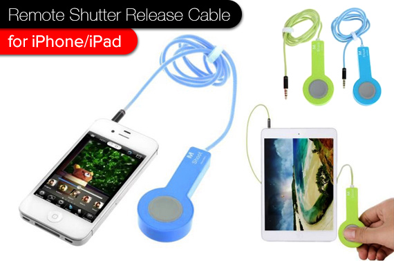 Camera Remote Shutter Release Cable for iPhone/iPad
