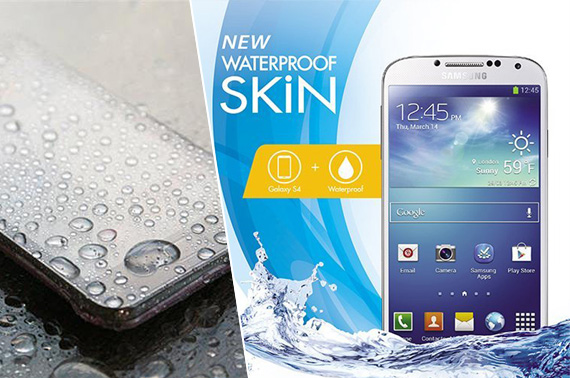 Waterproof Skin Case for Samsung Galaxy S4