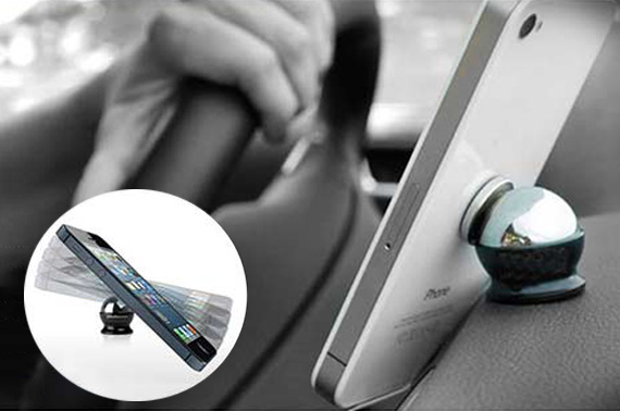 Magnetic Mobile Phone Car Mount Kit