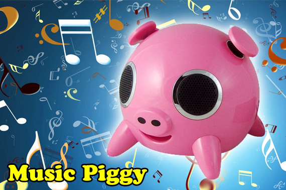 Music Piggy Digital Mini 2.1 Speaker