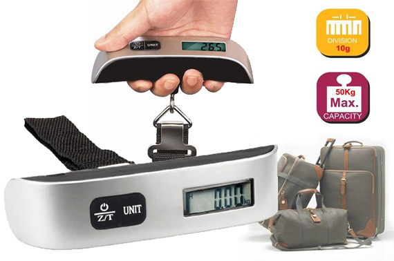 50kg Capacity Portable Digital Electronic Luggage Scale
