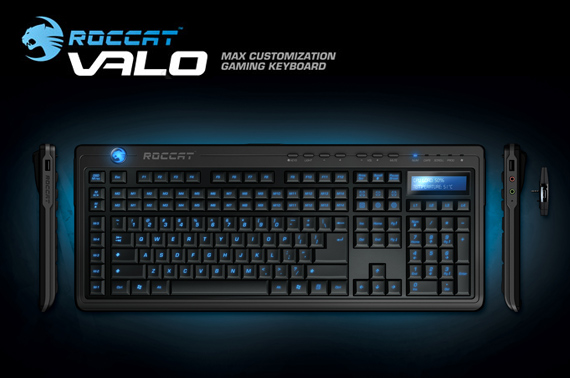 ROCCAT VALO Customization Gaming Keyboard