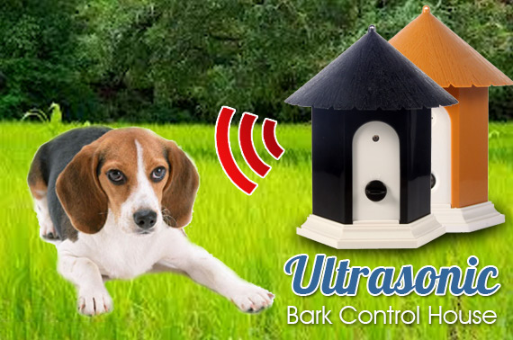 Outdoor Ultrasonic Bark Control Dog House