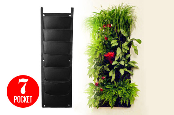 7-Pocket Vertical Garden Planter