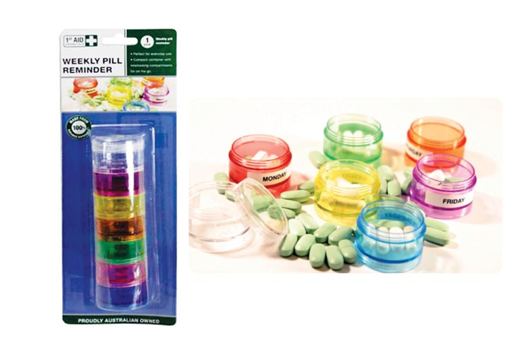 Pill Reminder Tubs-7 Compartments
