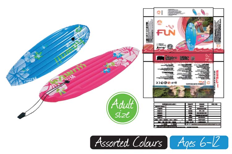 Hawaii Surfboard-150x53cm-2 Colours
