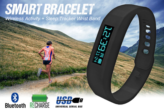 Bluetooth Sport Health Watch/Smart Bracelet for Android Phones