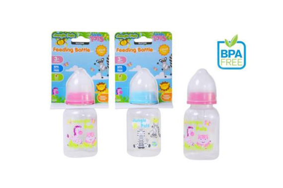 BPA free Silicone Baby Bottle 125ml