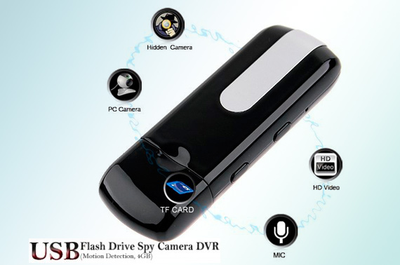 USB Disk Shaped DVR with Motion Detector