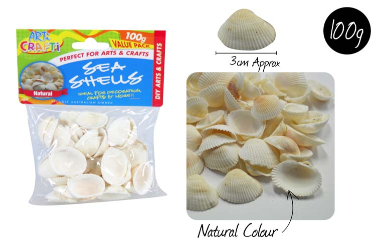 100g Sea Shell Pack