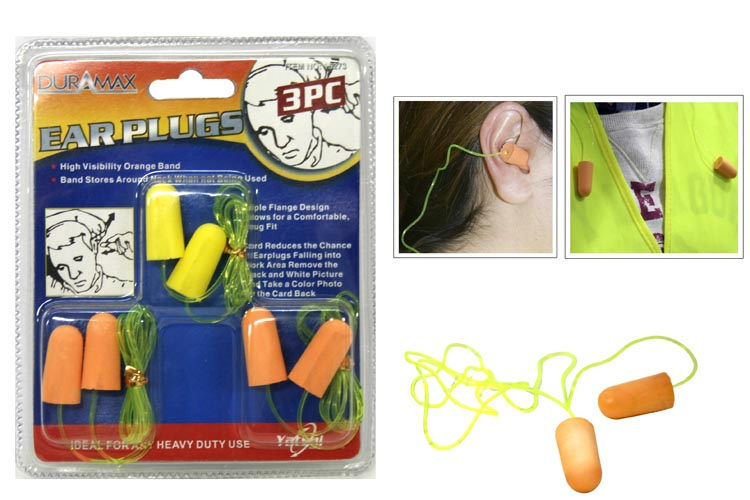 3pc EarPlug Set
