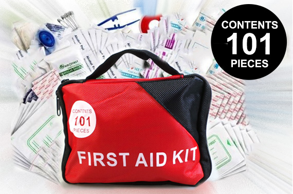 101 Piece Emergency First Aid Kit
