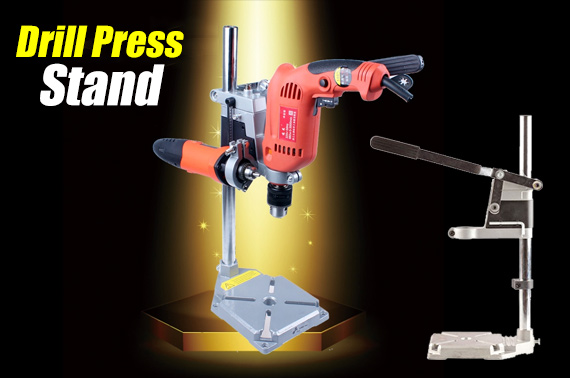 Heavy Duty Workbench Drill Press Stand