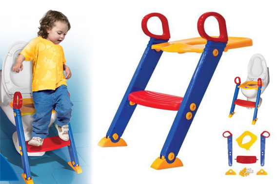Non Slip Toilet Training Ladder for Kids
