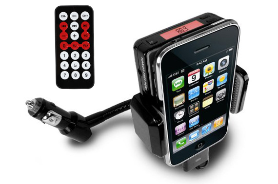 180 Degree Rotation All Kit FM Transmitter Stand for Mobile Phones