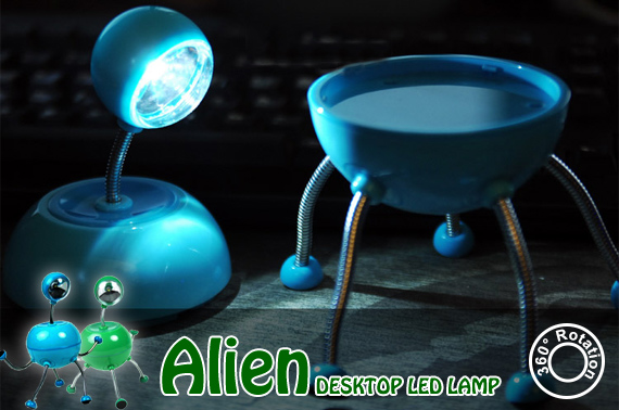Alien Style Desktop LED Lamp