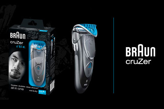 Braun Cruzer 6 All-in-One Face Shaver