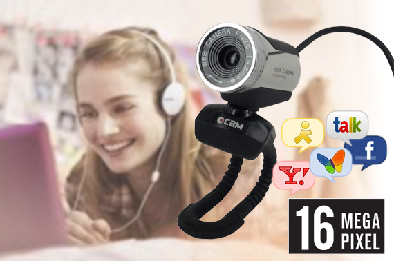 16Megapixel Ultra-HD USB2.0 Webcam