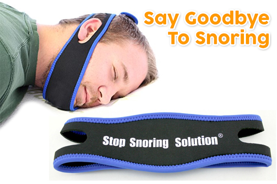 Stop Snoring Solution Anti Apnea Chin Support Strap